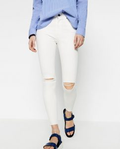 4th of July White Jeans